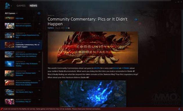 Известным порталом по World of Warcraft, MMO-Champion, был опубликован ряд