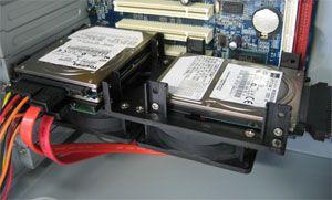 Scythe предлагает кулер для HDD