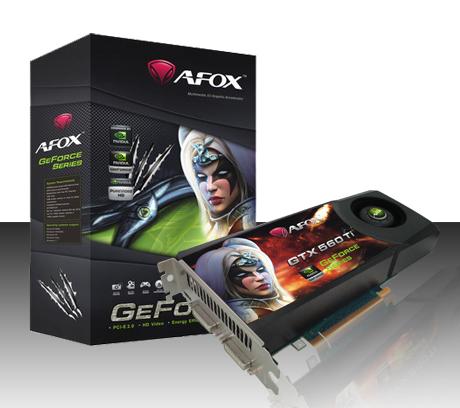AFOX GTX 560 TI 1GB