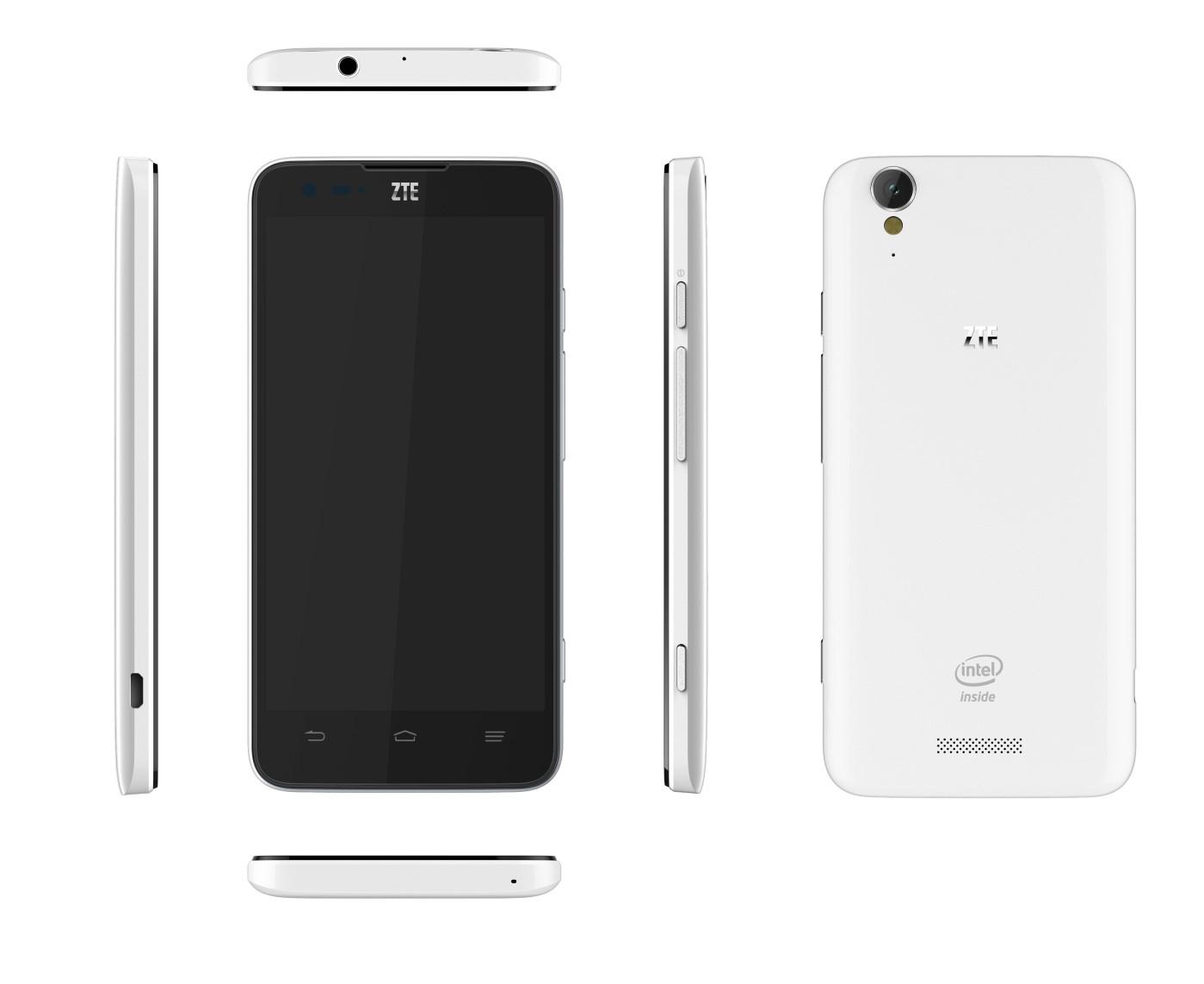 ZTE Geek - смартфон на базе процессора Intel