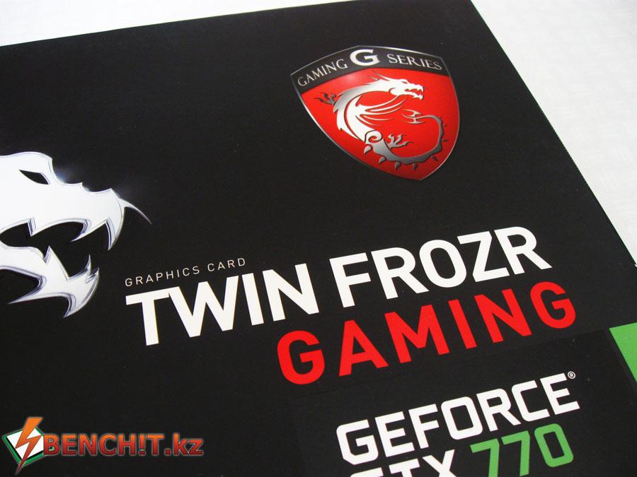 Упаковка MSI GTX 770 Gaming