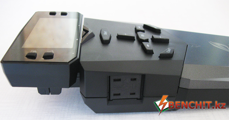 ASUS OC Panel позволяет подключать термопары K-Type