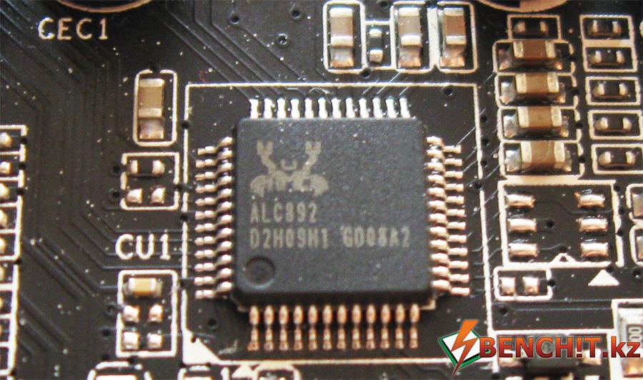 Звуковой кодек Realtek ALC 892