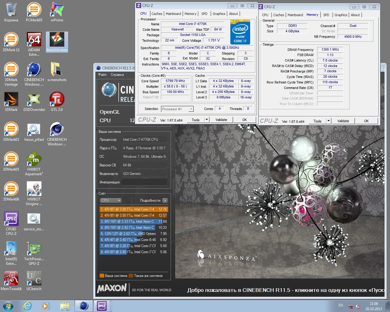 CineBench R11.5 x64