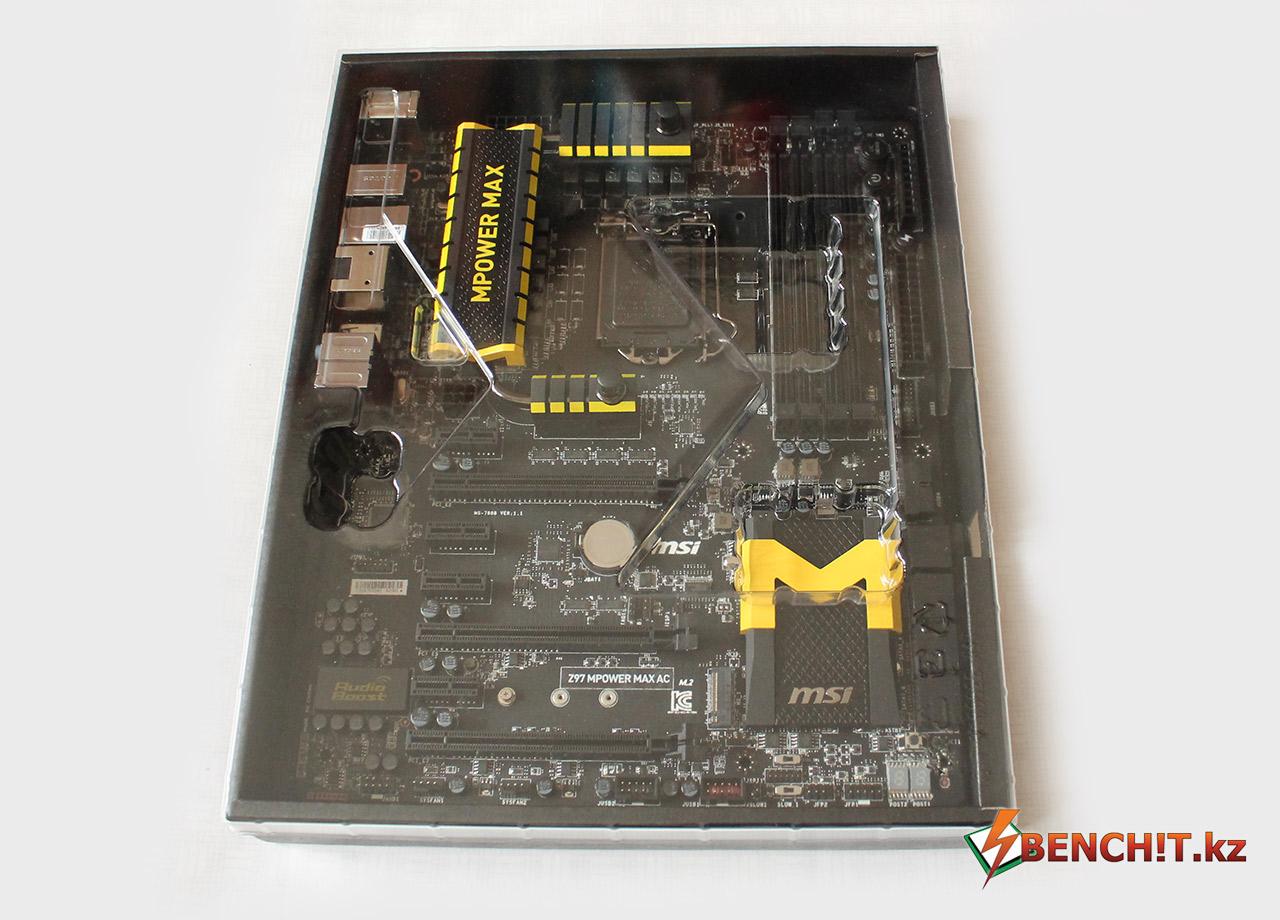 Материнская плата MSI Z97 MPower MAX - новая плата на чипсете Intel Z97