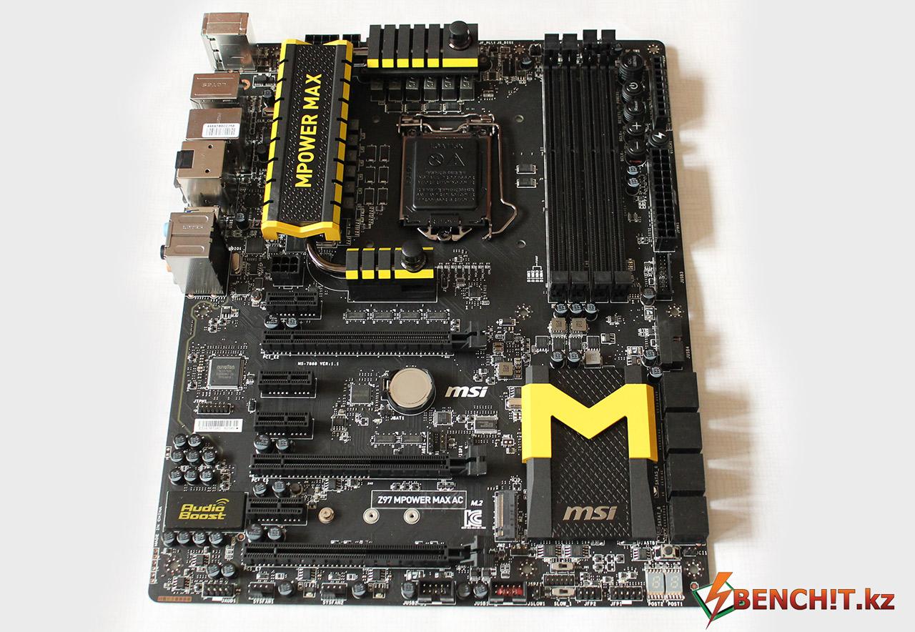 MSI Z97 MPower MAX