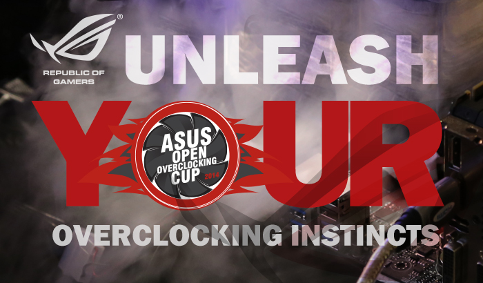 ASUS OPEN OC CUP 2014