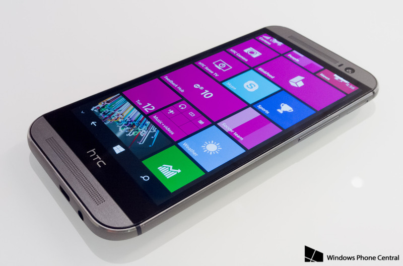 HTC One M8 на базе Windows Phone 8.1