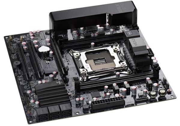Материнская плата EVGA X99 Micro