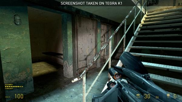 Half Life 2 на NVIDIA Shield