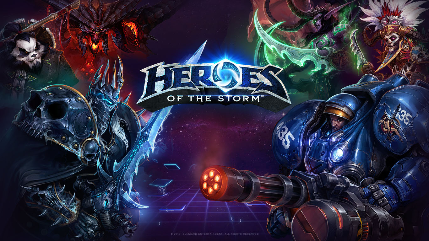 Heroes Of the Storm - превью