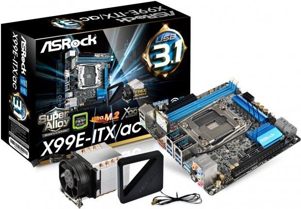 Материнская плата ASRock X99E-ITX/AC