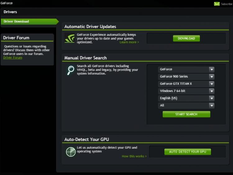 Драйвер Nvidia Для Windows 10