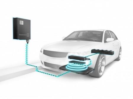 WEVC – беспроводная зарядка автомобиля
